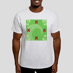 Butterfly Square Locker Frame Light T-Shirt