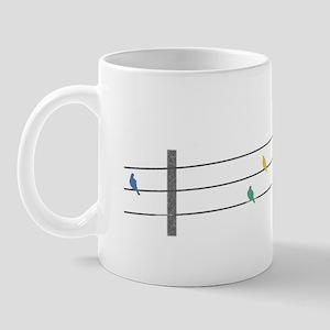 Birds on Wires Mug