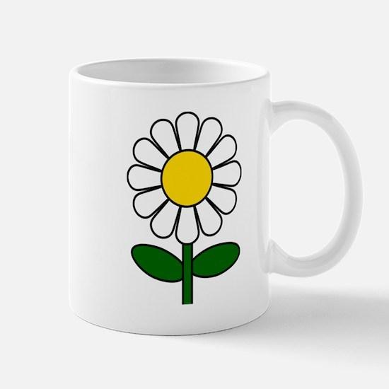 Daisy Flower Mugs