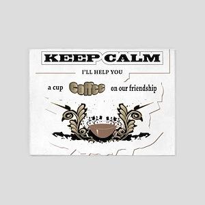 Keep Calm 5'x7'Area Rug