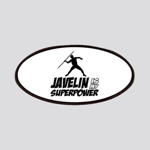 Javelin is my superpower Patches