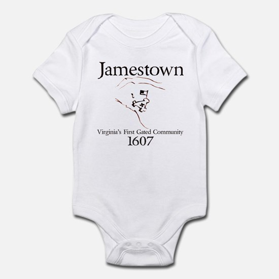 Jamestown 1607 Infant Bodysuit