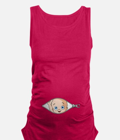 Unique Funny Maternity Tank Top