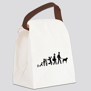 Curly Coated Retriever Canvas Lunch Bag