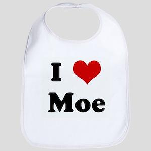 I Love Moe Bib