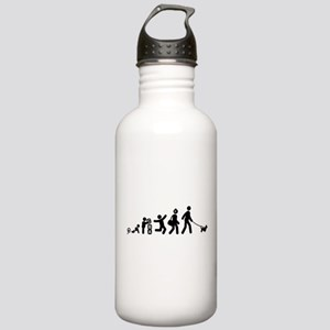 Dandie Dinmont Terrier Stainless Water Bottle 1.0L