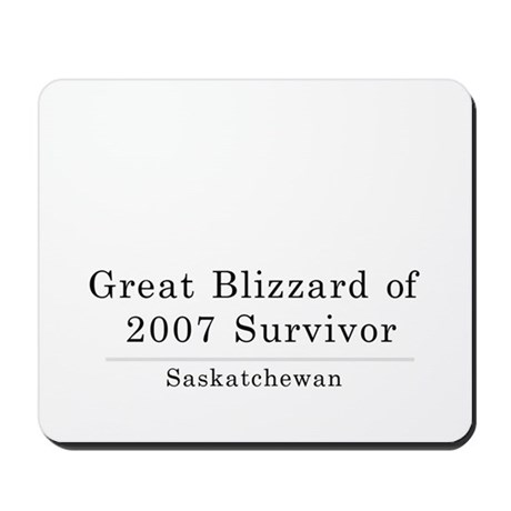 Blizzard Mousepad