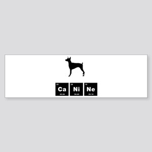 Doberman Pinscher Sticker (Bumper)