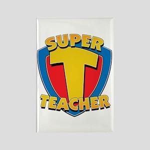 Super Teacher Rectangle Magnet