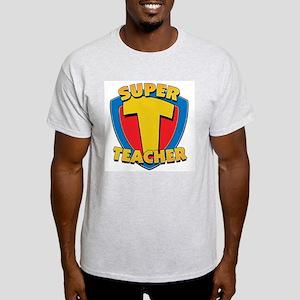 Super Teacher Ash Grey T-Shirt