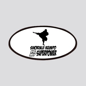 Shorinji kempo is my superpower Patches