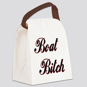 BOAT BITCH CENTERED Canvas Lunch Bag