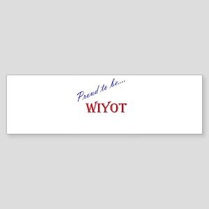 Wiyot Bumper Sticker