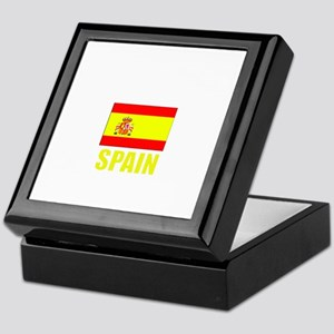 Spain Flag (Dark) Keepsake Box