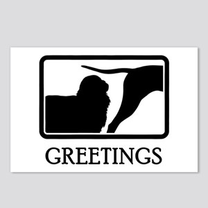 English Toy Spaniel Postcards (Package of 8)