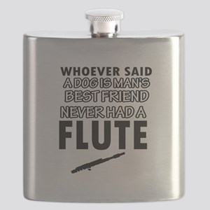 Cool flute designs Flask