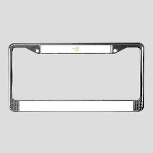 Birthday Girl margarita License Plate Frame