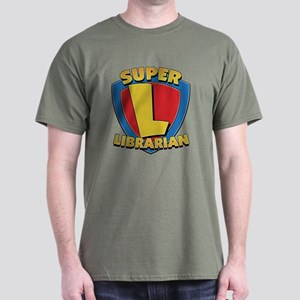 Super Librarian Dark T-Shirt