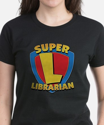 Super Librarian Women's Dark T-Shirt