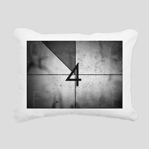 Grunge Countdown  Rectangular Canvas Pillow