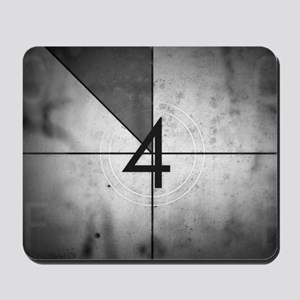 Grunge Countdown  Mousepad