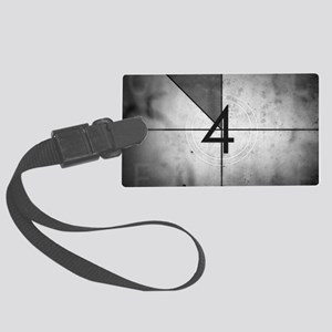 Grunge Countdown  Large Luggage Tag