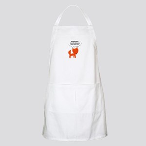 What does the fox say? Apron