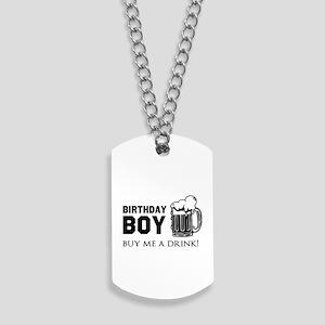 Birthday Boy Beer Dog Tags