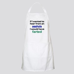 Would have farter Apron
