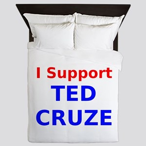 I Support Ted Cruze Queen Duvet