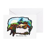 Dragon And Centaur Fairy Greeting Cards (Pk of 10)