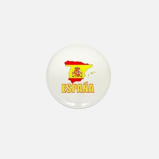Espana Flag/Map Mini Button