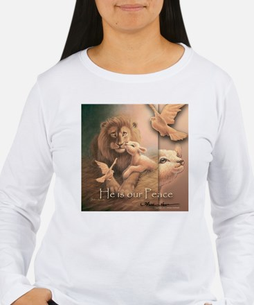 """""""He is our Peace"""" Fine Art T-Shirt"""