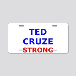 Ted Cruze Strong Aluminum License Plate