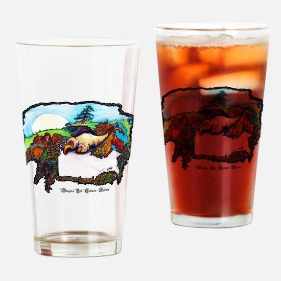 Dragon And Centaur Fairy Drinking Glass