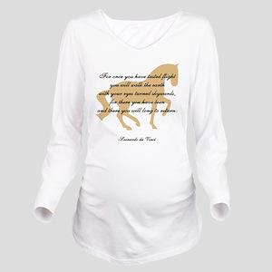 flight da Vinci horse copy Long Sleeve Materni