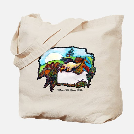 Dragon And Centaur Fairy Tote Bag
