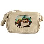 Dragon And Centaur Fairy Messenger Bag