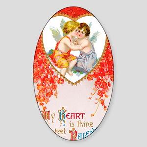 Sweet Valentine Sticker (Oval)