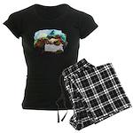 Dragon And Centaur Fairy Women's Dark Pajamas