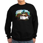 Dragon And Centaur Fairy Sweatshirt (dark)