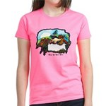 Dragon And Centaur Fairy Women's Dark T-Shirt