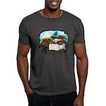 Dragon And Centaur Fairy Dark T-Shirt