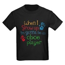 Future Oboe Player Kids Dark T-Shirt