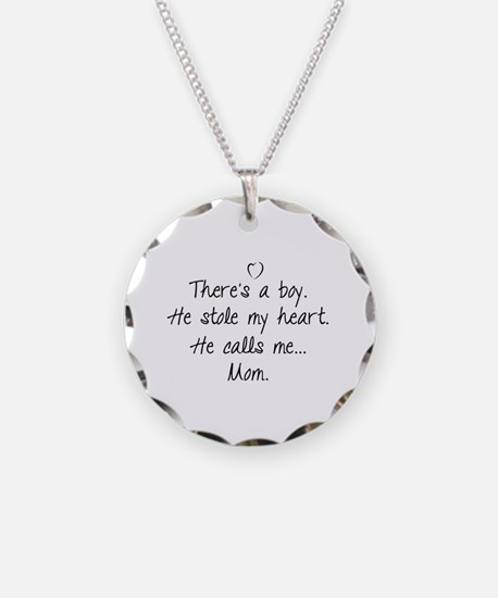 There's a boy Necklace