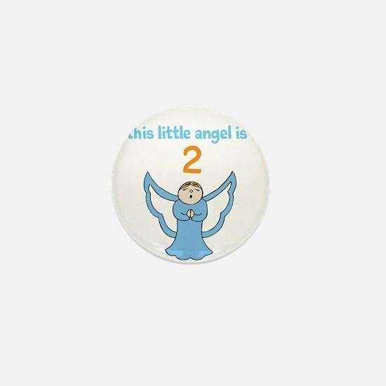little angel custom age Mini Button