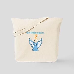 little angel custom age Tote Bag
