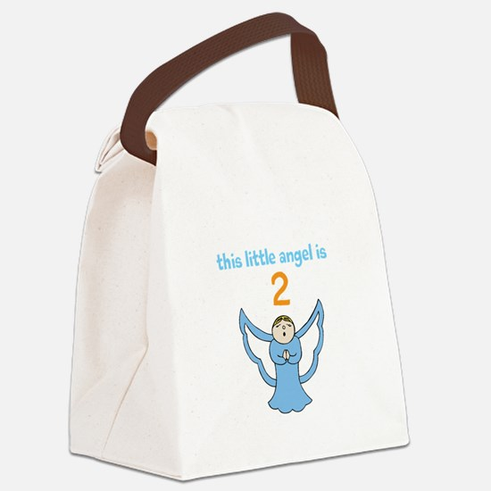 little angel custom age Canvas Lunch Bag