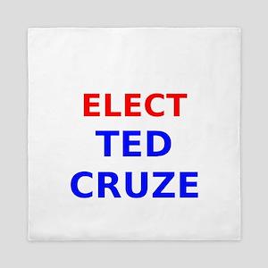 Elect Ted Cruze Queen Duvet