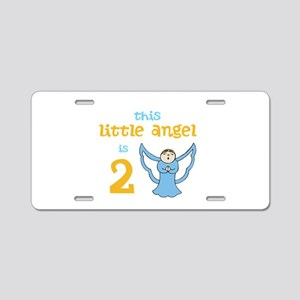 little angel custom age Aluminum License Plate